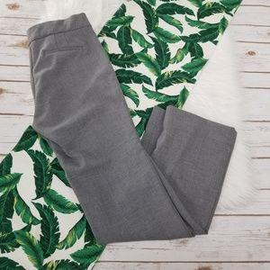 J Crew Eddie Full-Length Trouser in gray